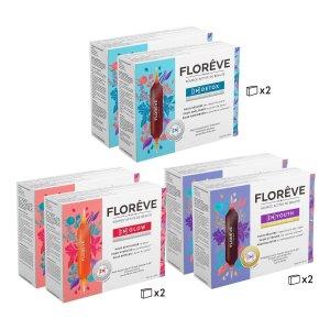 Floreve 红+蓝+紫 3月套组