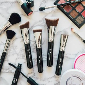 All Eye Brushes $10+ All Face Brushes $16 @ Sigma Beauty