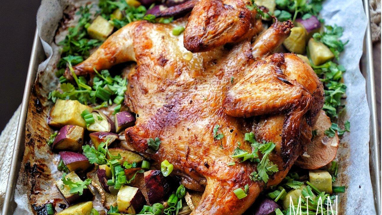 不是感恩节也能吃的泰式烤鸡!