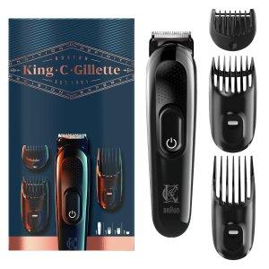 6.7折!立省£10Gillette 男士剃须剪发套装热卖 满足您所有的毛发修剪需求