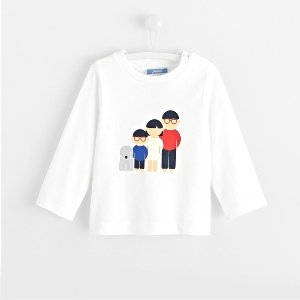 JacadiToddler boy illustrated print T-shirt