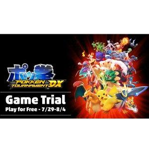 $41.99 (原价$59.99)《宝可梦铁拳》Switch 数字版 免费游玩一周