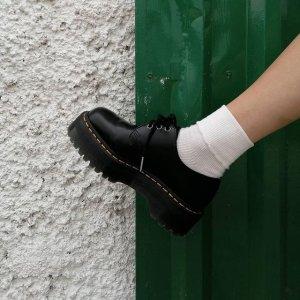 全部7.5折 杨幂同款3孔厚底$213Dr Martens 马丁靴热卖 经典1460 8孔、切尔西靴都参加