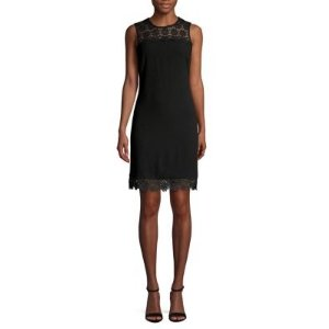 fb1838561528 Karl Lagerfeld ParisLace-Trimmed Sheath Dress