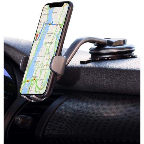 AUKEY Car Phone Mount Windshield Dashboard Car Phone Holder