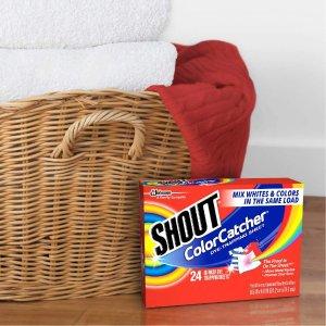 Shout 洗衣防染巾72片