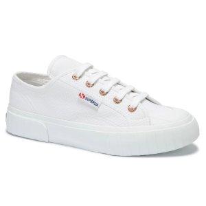 Superga海狸同款!2630 COTU 帆布小白鞋