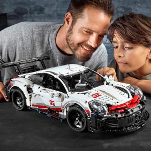 $158.99(原价$199.86) 2019年款折扣升级:LEGO 42096 Technic 保时捷911 RSR 车迷搓搓小手可以入了