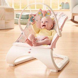 $22.49 (原价$34.99)史低价:Fisher-Price费雪 震动安抚婴儿摇椅