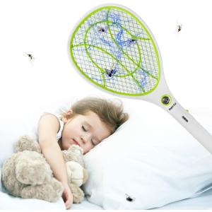 售价€17.99 可充电式设计Night Cat 电蚊拍热促 天气渐暖 和蚊虫斗争到底