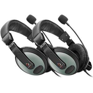 $9.99(原价$35.99)Etekcity 游戏耳机2个装