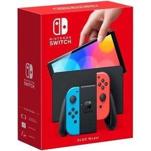 现货速发Nintendo Switch Console OLED Model - Neon