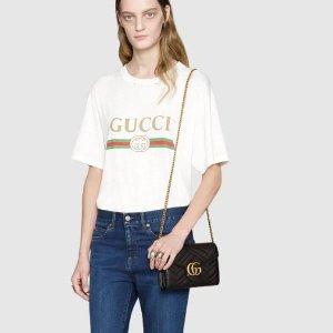 $1050 (官网定价$1450)Gucci 新款 GG Marmont 链条包 直降$400