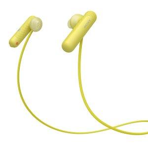 立减好价¥399Sony  WI-SP500 无线蓝牙运动耳机 IPX4防泼溅 白色