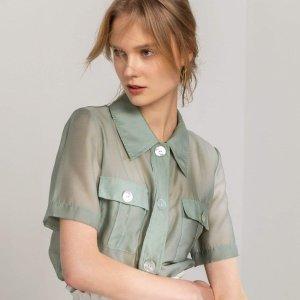 独家:J.ING 精选早春2020新款 收马卡龙色质感小衫,纯白系列仙女裙