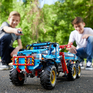 现价£154.99(原价£219.99)LEGO 乐高 科技系列 42070 遥控 六驱全地形卡车