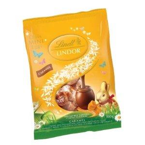 Lindor 迷你焦糖巧克力蛋100g