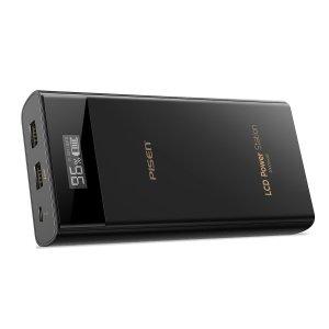 仅$21.75 包邮PISEN LCD20000 mAh移动电源