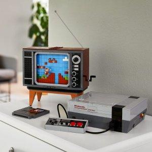 Lego8月1日上市NES游戏机 71374 | 超级玛丽系列