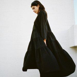 3折起+全场8.5折!£15收新款连衣裙折扣升级:Arket 连衣裙新款大促 北欧风简约设计派 印花裙、优雅小黑裙全参与