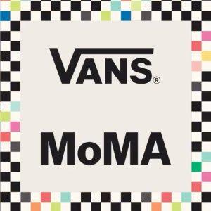 全场8折 €31.2收棋盘格T恤上新:Vans X MoMa 联名潮服鞋款 缤纷棋盘格 行走的艺术品