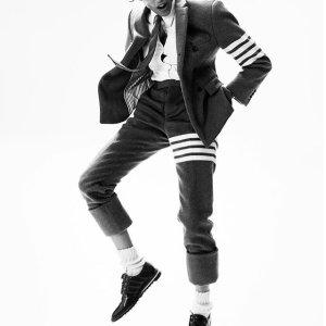 8.5折+包邮  收春夏新品最佳时机Thom Browne 专场  经典衬衫300+收