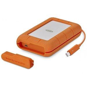 $129.99 最高510MB/SLaCie 500GB Rugged USB-C 雷电3 三防固态移动硬盘