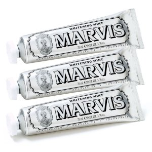 Marvis薄荷牙膏套组 (3x85ml)