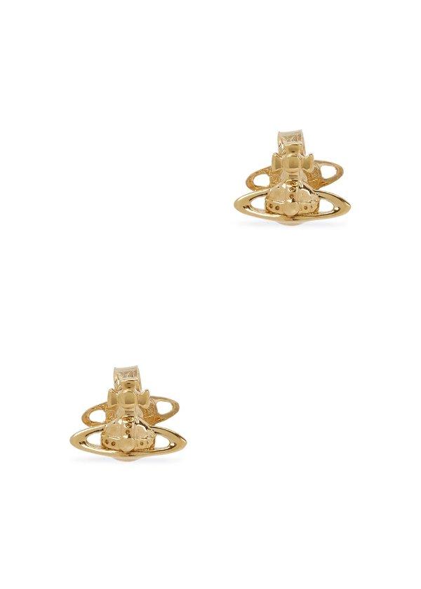 金色土星耳钉