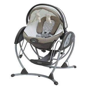 低至5.8折 封面款降至$97.00Graco 婴幼儿电动安抚摇椅,多款可选