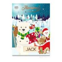 白熊巧克力圣诞日历