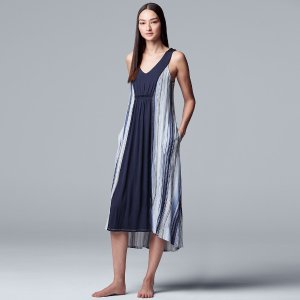 $17 白菜价入手明星同设计师款Simply Vera Vera Wang 品牌睡衣热卖 Selina,coco的婚纱品牌