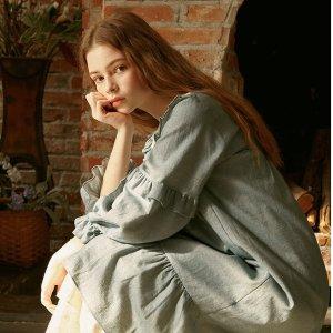 5折起 £35收荷叶边睡裙ULLALA PAJAMA 仙气睡衣热卖 在家也要穿得精致漂亮