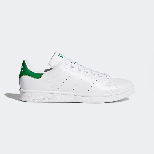 Stan Smith 绿尾小白鞋