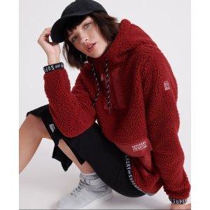 Superdry羊羔毛卫衣