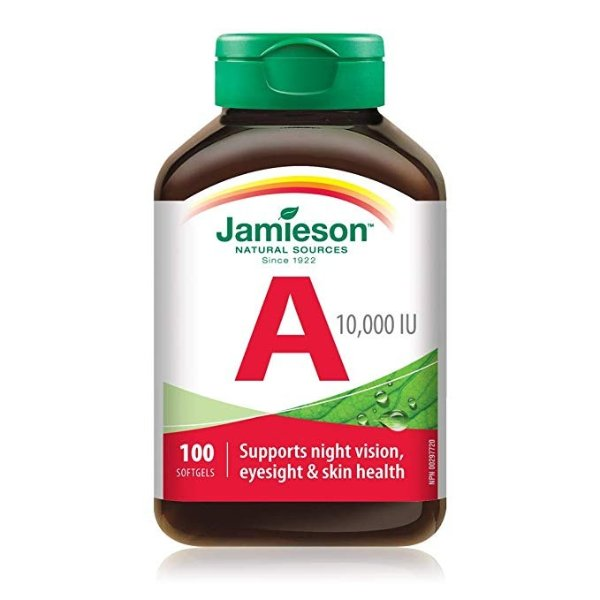 维生素A 10,000 IU  100粒
