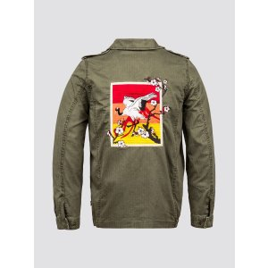 Alpha IndustriesF-2 FRENCH FIELD COAT DECORATED W