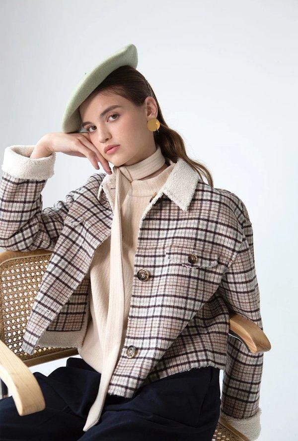 Stockholm小羊毛双面夹克