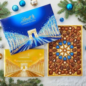 低至5折 香榭丽舍礼盒$8.50Lindt 巧克力限时促销 多款冬季节日礼盒也参加