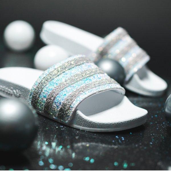 Adilette 水晶拖鞋