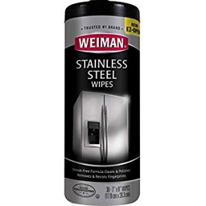 Amazon.com: Weiman Stainless Steel Canister Wipes, 30 count: Gateway