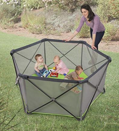 Summer Infant 便携式可折叠宝宝活动围栏
