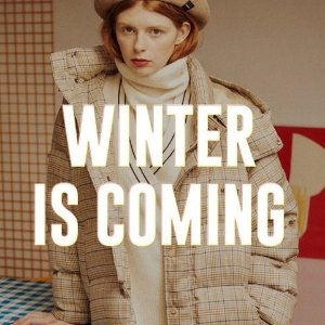 Up to 25% off Winter Is Coming Coat Sale @W Concept