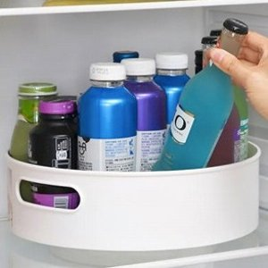 $13.51(原价$35)可防滑 旋转式收纳托盘  适用于冰箱内/厨房等 让家里空间井井有条