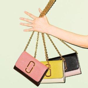 $103.20 (原价$265) 4色可选手慢无:Marc Jacobs 拼色链条挎包热卖