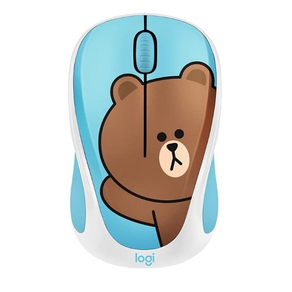 x LINE FRIENDS 超萌 布朗熊联名款 无线鼠标