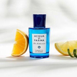 5折起 £57.6入桃金娘加州桂Acqua Di Parma 精选香氛热卖 收蓝色地中海系列