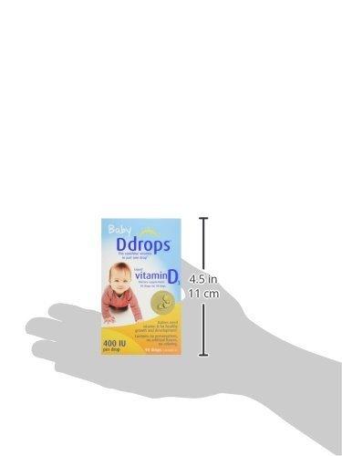 哺乳期婴儿维生素D3滴剂 400IU 90滴