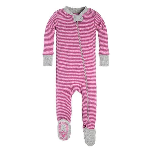 婴儿有机棉包脚睡衣