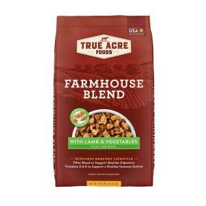 True Acre Foods羊肉味狗粮30磅